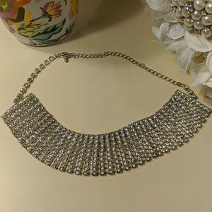 💖 Glamorous [Fake] Diamond Choker Necklace